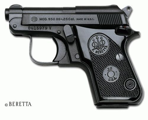 Beretta 950BS Jetfire Pistol Service Manuals, Cleaning, Repair